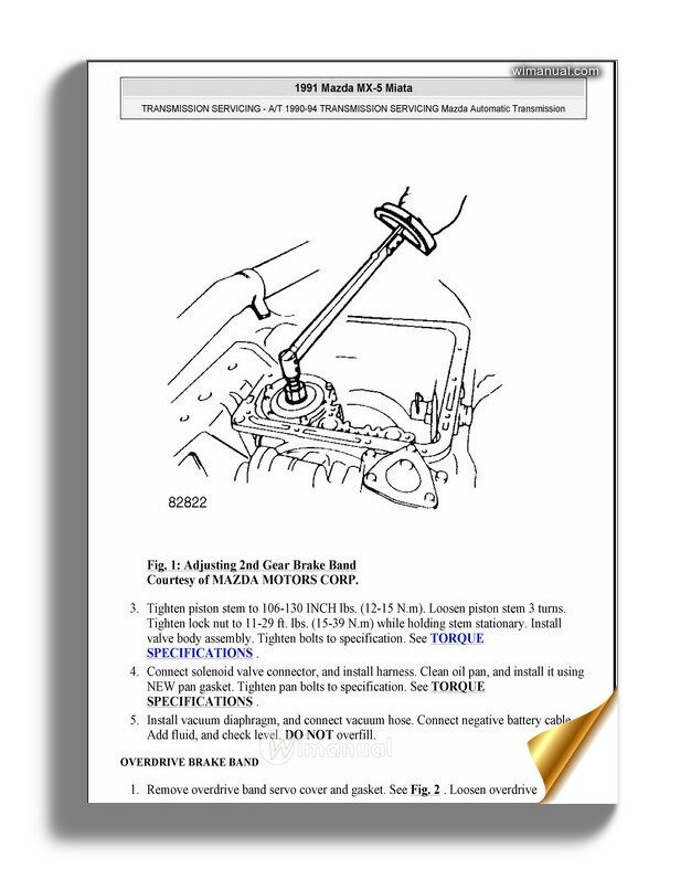 1994 owners manual for mx5