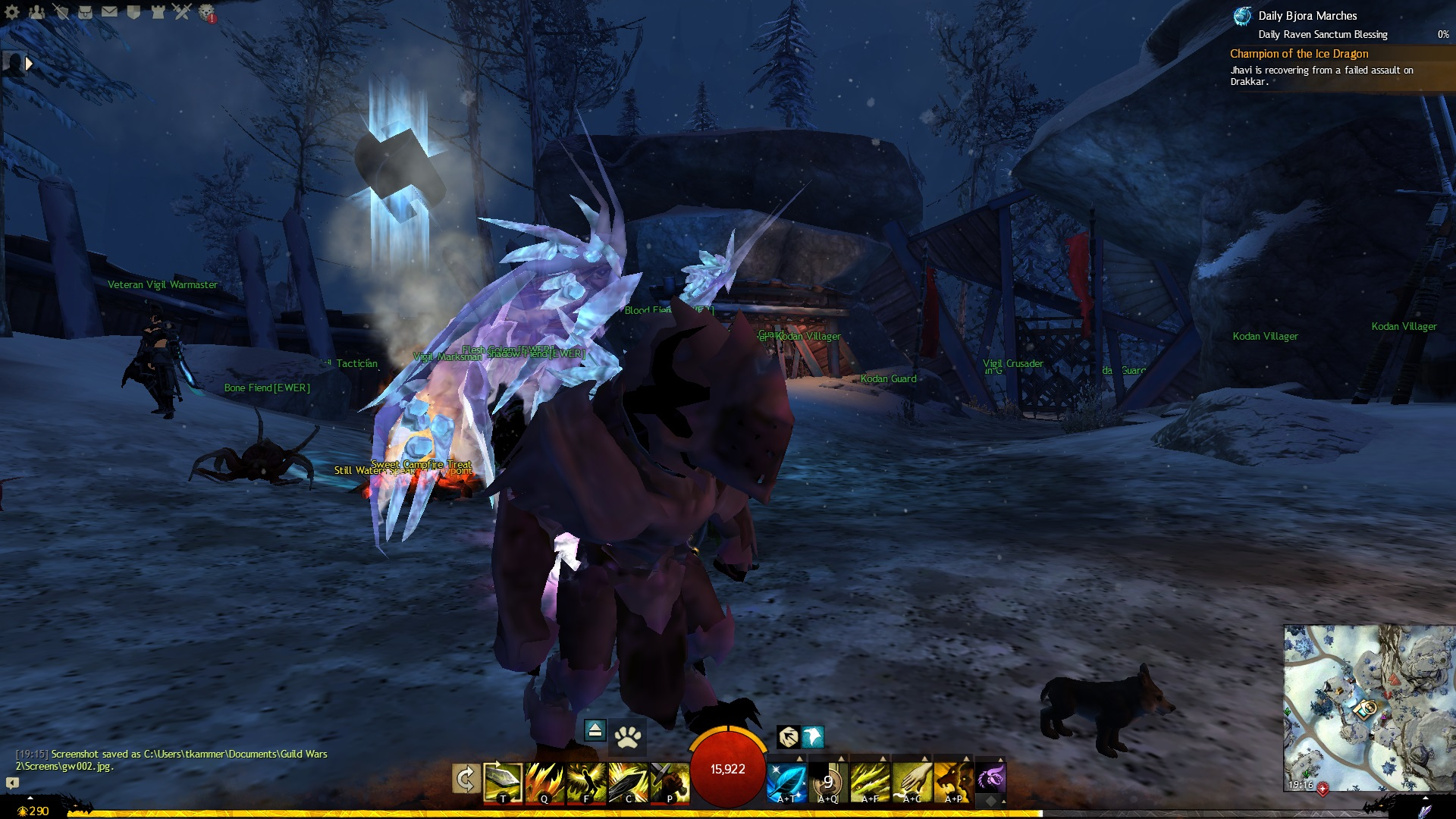 how to turn off manual cast guild wars 2