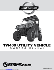 bristers trail wagon owners manual