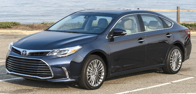 2016 toyota avalon owners manual