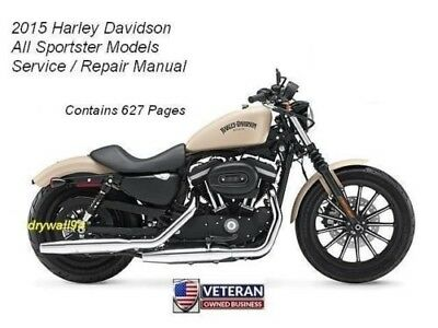 2008 sportster service manual free