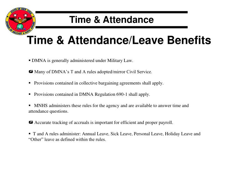 nys civil service time and attendance manual