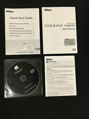 nikon coolpix s4000 user manual