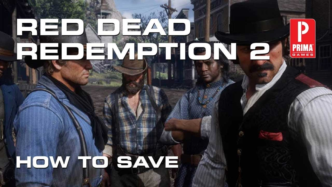 red dead redemption 2 manual save