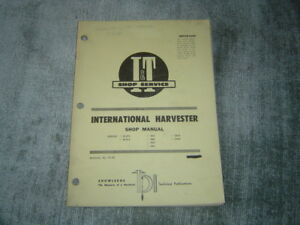 free international b414 service manual