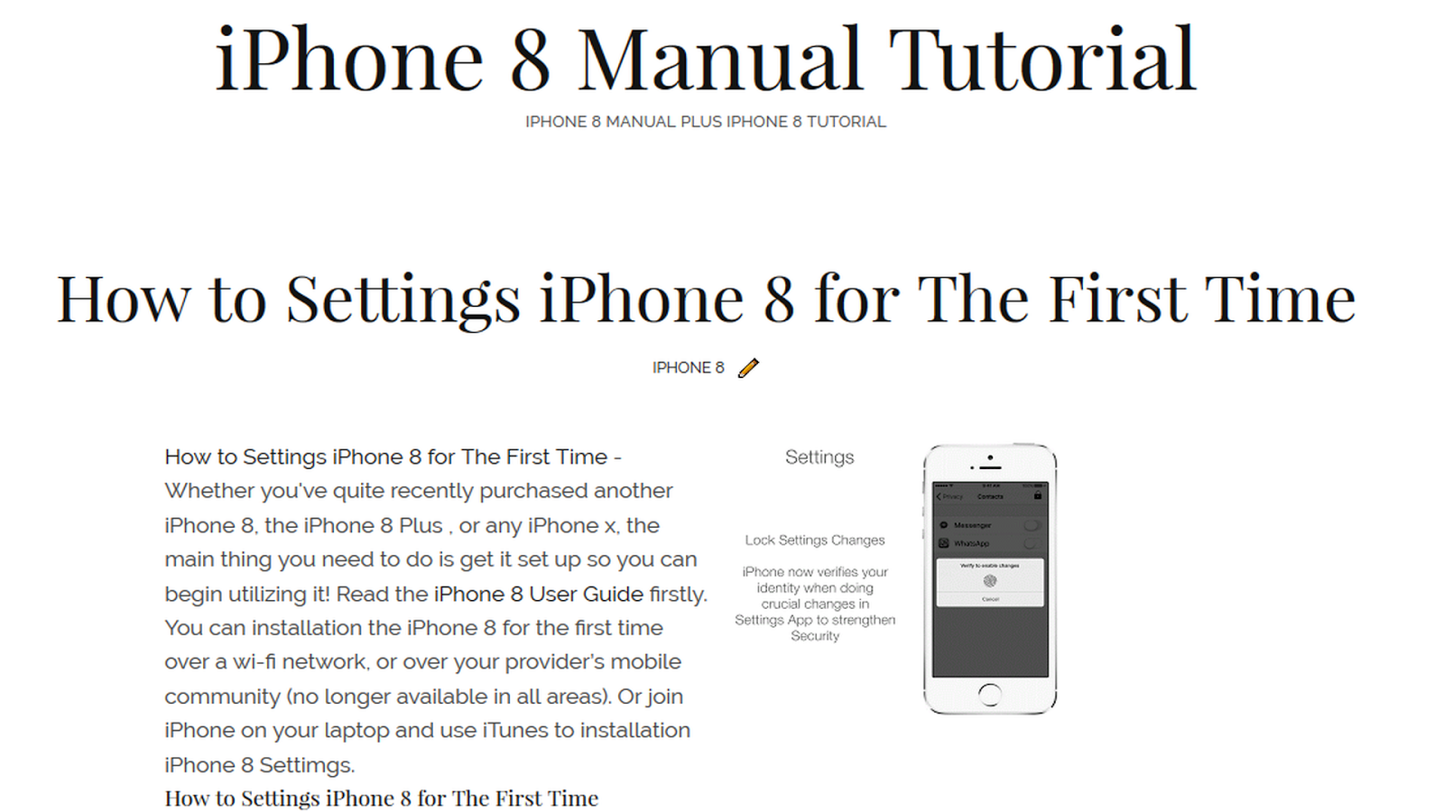 iphone 7 plus owners manual